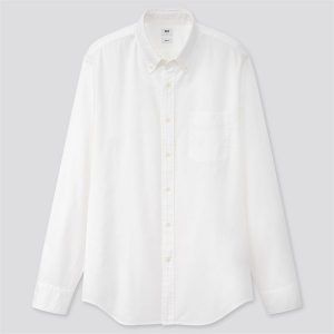 UNIQLO OXFORD SLIM FIT SHIRT (LONG SLEEVE) Ss2020