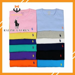POLO RALPH LAUREN T-SHIRT USA CROSSED FLAGS