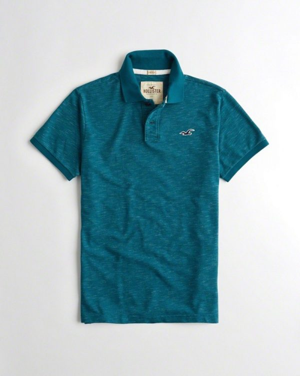ÁO HOLLISTER STRETCH POLO 2020