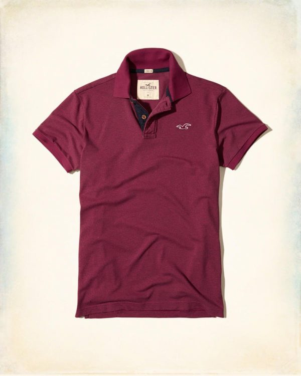 ÁO HOLLISTER STRETCH POLO