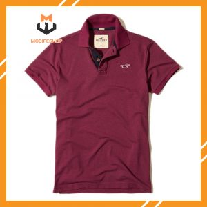 ÁO HOLLISTER STRETCH POLO 2020 - ĐỎ