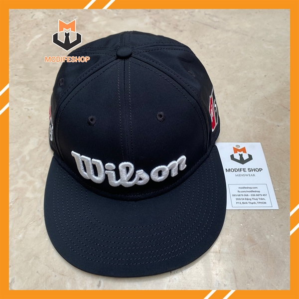 𝐍𝐨́𝐧/ 𝐦𝐮̃ 𝐒𝐧𝐚𝐩𝐛𝐚𝐜𝐤 𝐖𝐢𝐥𝐬𝐨𝐧 - WILSON TOUR FLAT BRIM HAT